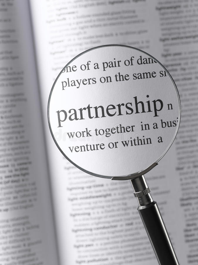 партнерство стоковое фото