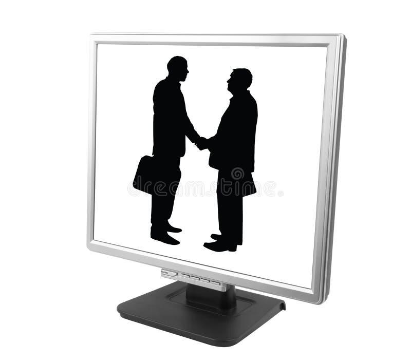 партнерство e стоковое изображение rf