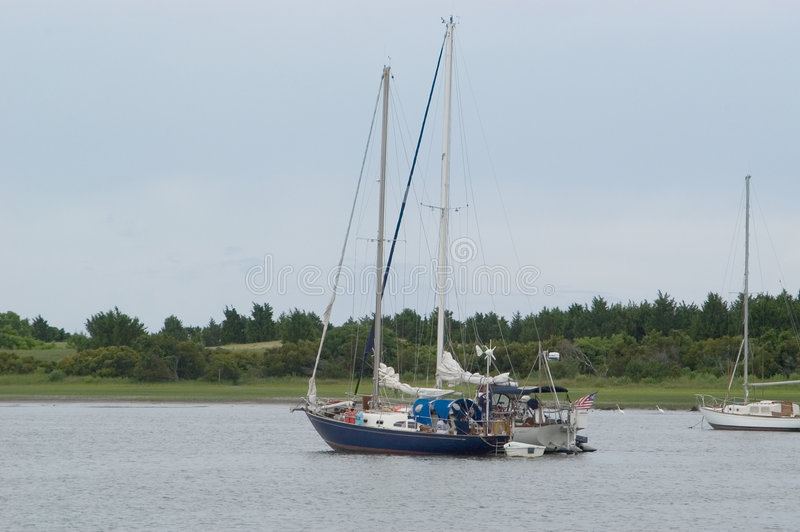 парусники 2 гавани Стоковые Фото