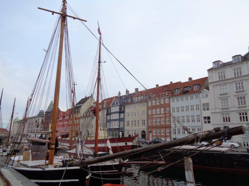 Парусник Nyhavn стоковая фотография