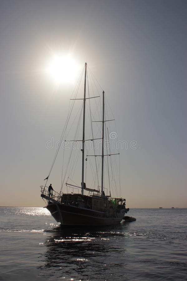 Парусное судно стоковая фотография rf