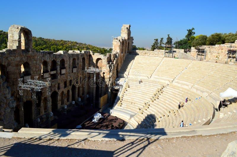 Парфенон и акрополь thens  Ð, Греция стоковые фото