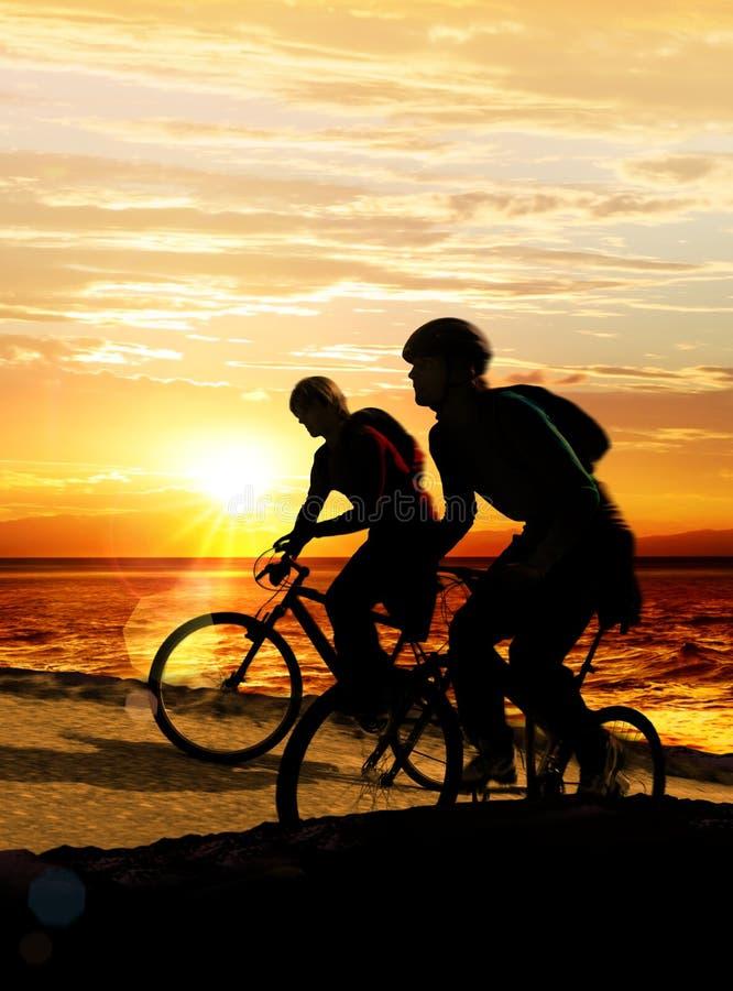 пары велосипедов стоковое фото