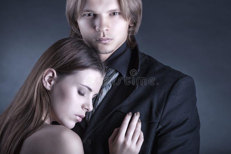 Пары влюбленности стоковое фото