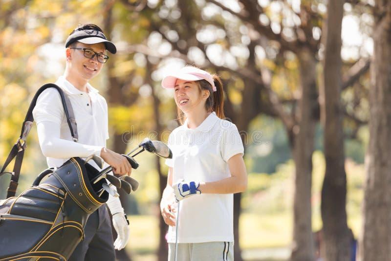 Пары гольфа стоковое фото