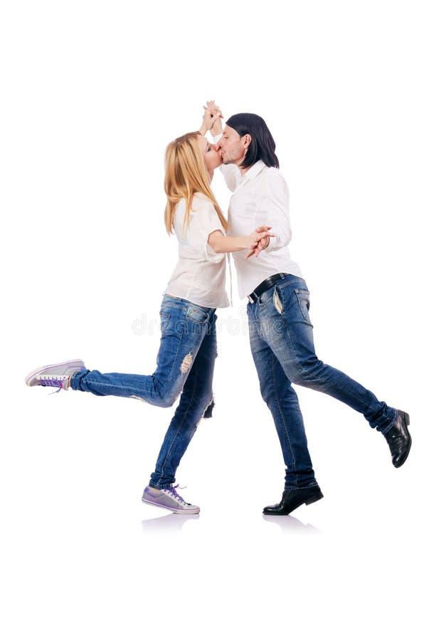 Пары женщины человека Стоковое Изображение