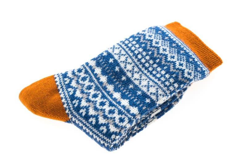 Download Пары носка хлопка для одежды Стоковое Фото - изображение насчитывающей bluets, striped: 81811164