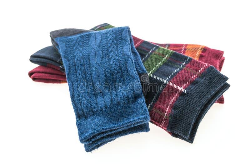 Download Пары носка хлопка для одежды Стоковое Фото - изображение насчитывающей мило, striped: 81811266