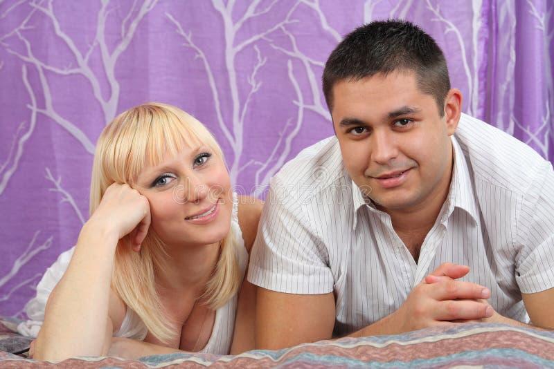 пары самонаводят любить стоковое изображение