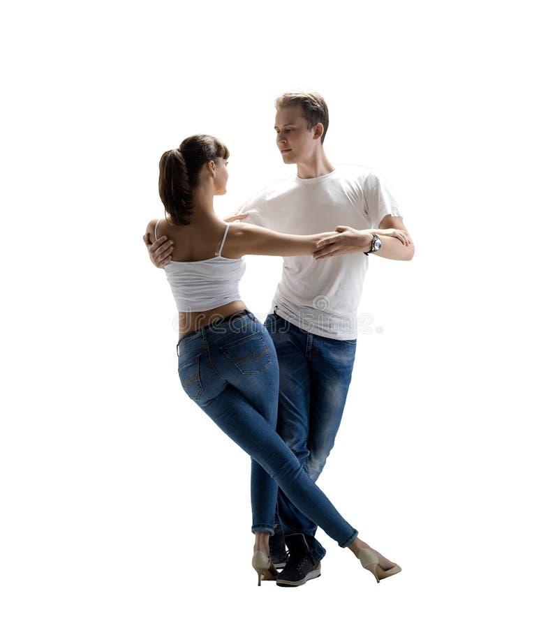Пары танцуя социальное danse стоковые изображения