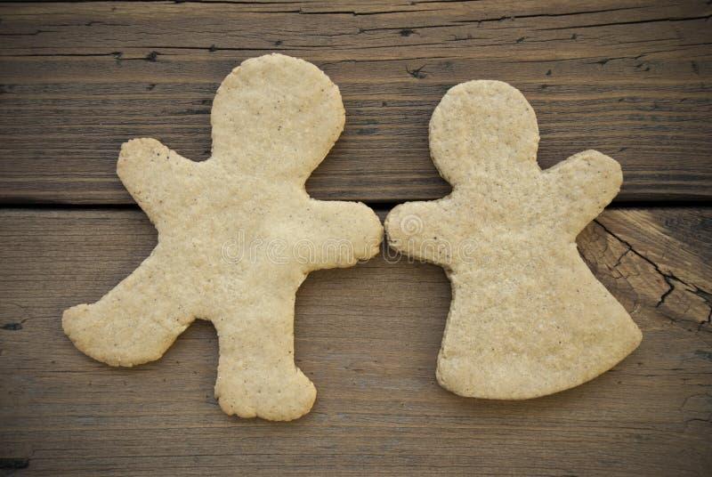 Пары хлеба имбиря стоковые изображения rf