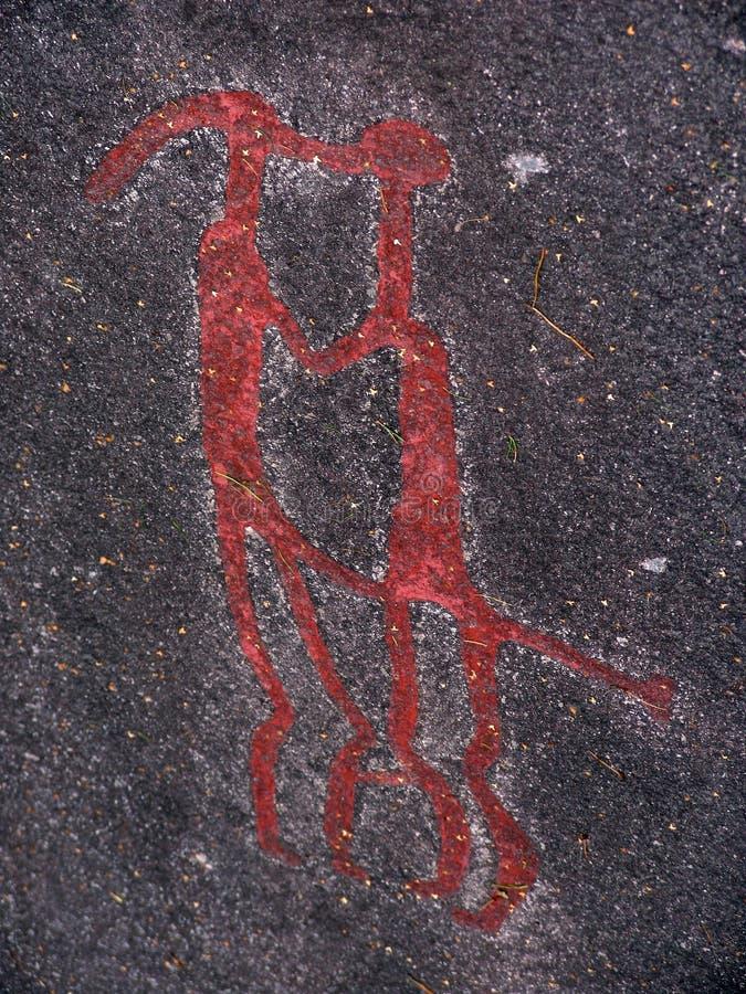Пары. Carvings утеса стоковое изображение rf