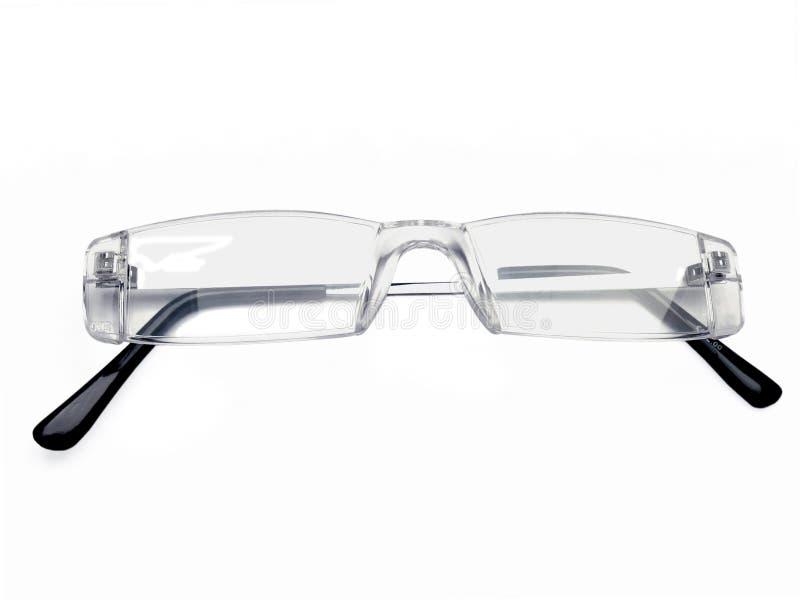 Пары rimless стекел глаза, стекел чтения, рамок eyeglass, 2 стоковое фото rf