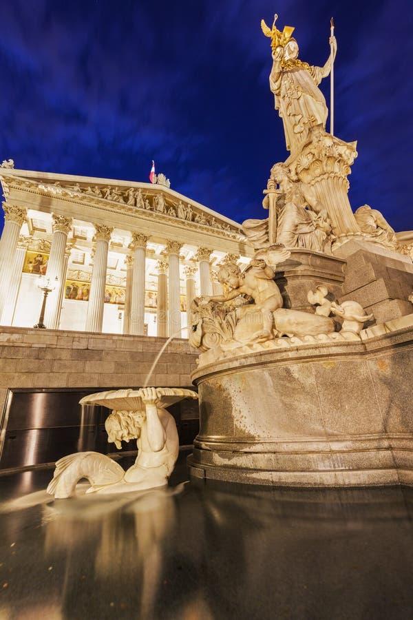 Парламент Австрии в вене стоковые фото