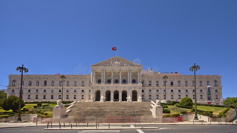 Парламент Лиссабона стоковое изображение
