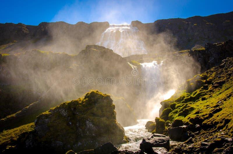 Пар водопада стоковая фотография rf