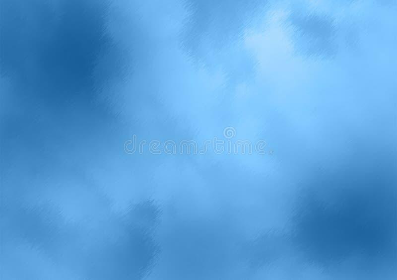 Пасмурные голубые обои предпосылки цвета стоковое изображение rf