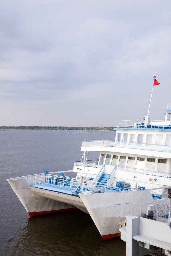 пассажирский корабль стоковая фотография rf