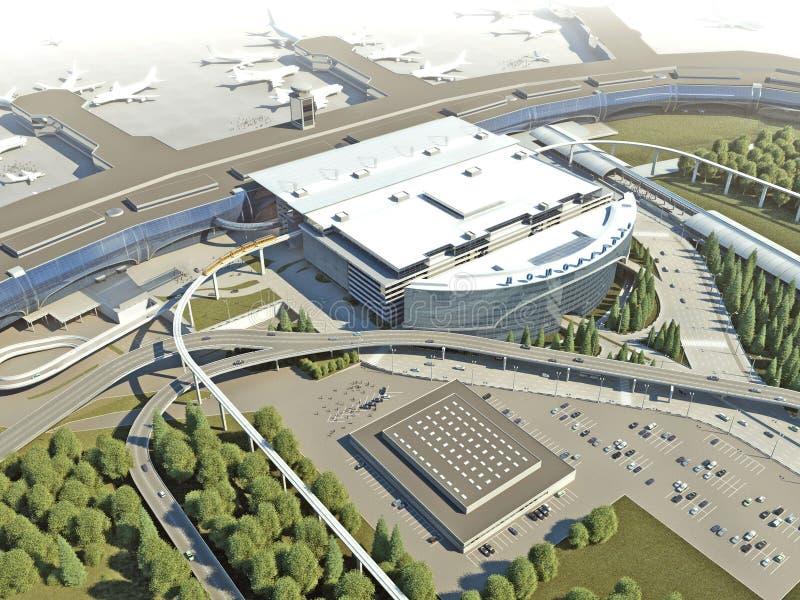 пассажирский терминал стоковое фото rf