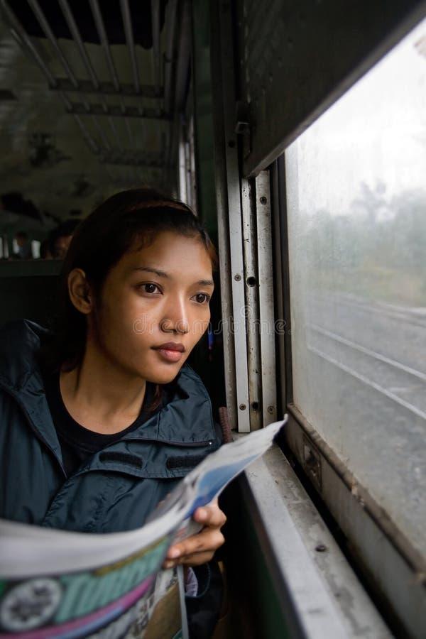 Пассажир стоковая фотография