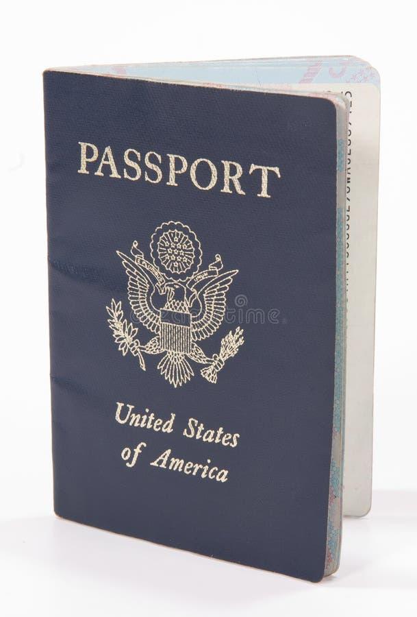 пасспорт США идентификации стоковое изображение