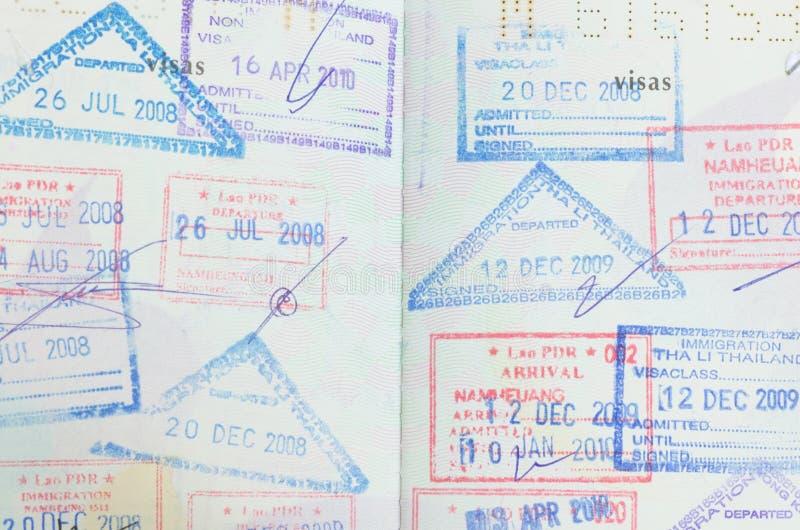 Пасспорт стоковые фото