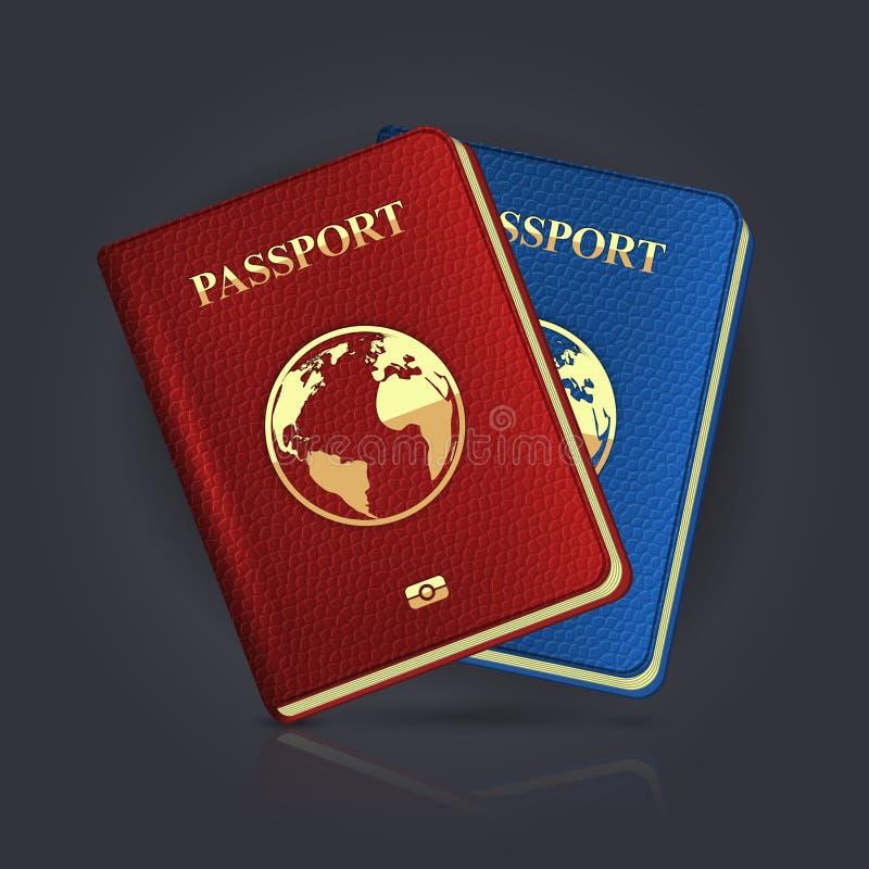 Пасспорт бесплатная иллюстрация