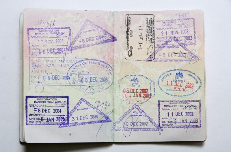 пасспорт стоковое фото