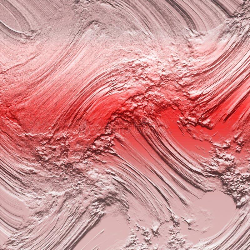Пастельная выбитая грязь на текстурированной предпосылке Текстурированная предпосылка для художественных произведений Винтажный с иллюстрация вектора