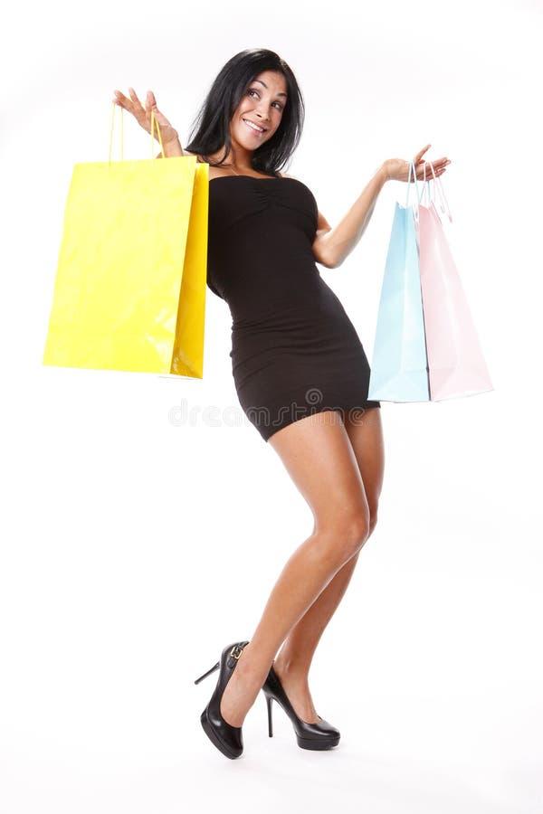 пастельная покупка стоковая фотография rf