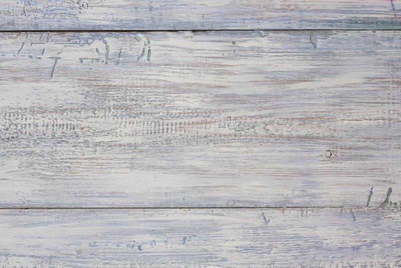 Пастельные деревянные планки Год сбора винограда выдержал затрапезной покрашенная белизной деревянная предпосылка текстуры стоковое фото
