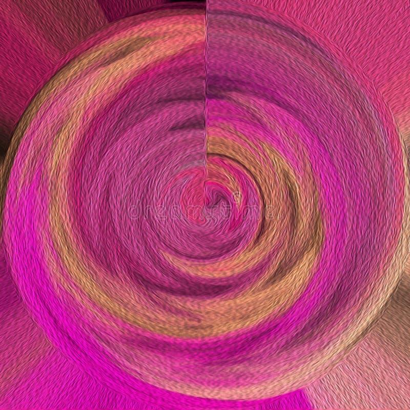 Пастельный дизайн на живой предпосылке Влияния картины маслом Очень творческое & роскошное художественное произведение для взгляд бесплатная иллюстрация