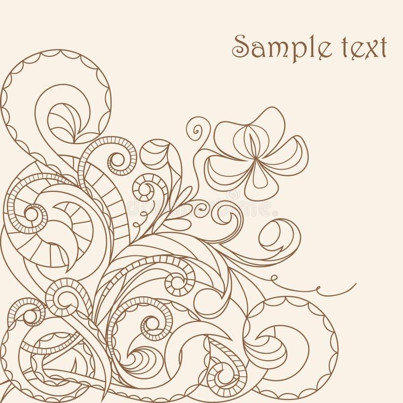 пастель приветствию карточки бесплатная иллюстрация