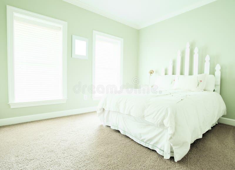 пастель спальни нутряная стоковое изображение rf