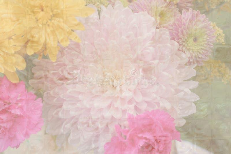 пастель цветка предпосылки стоковое фото
