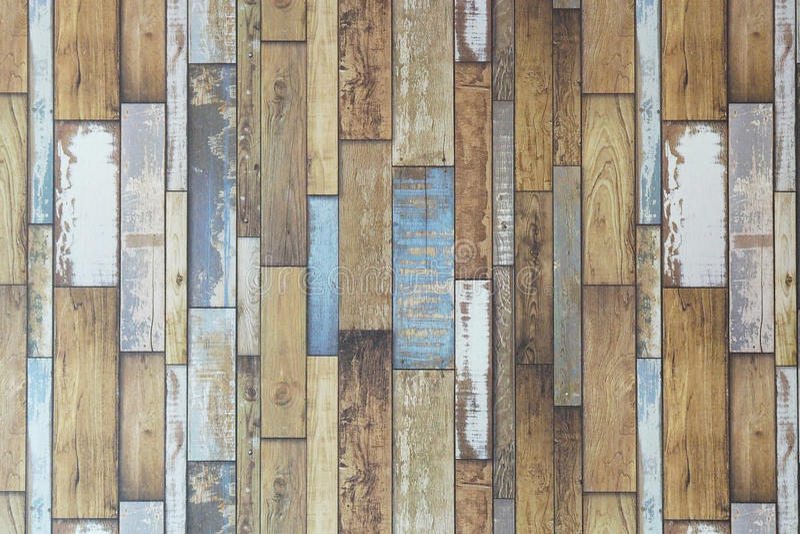 Пастельная деревянная предпосылка текстуры планок Винтажная деревянная предпосылка стоковое изображение rf