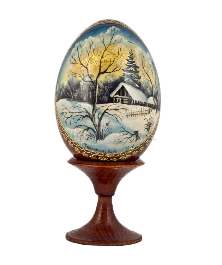 пасхальное яйцо Россия стоковые изображения
