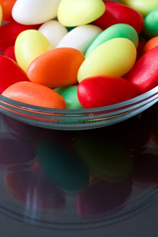 пасхальные яйца сладостные стоковое изображение rf