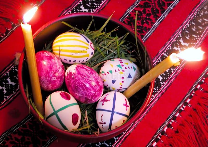 Download пасхальные яйца стоковое изображение. изображение насчитывающей вероисповедание - 84435