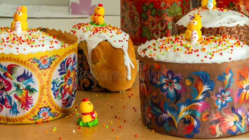 Пасха испекла в печи, рождестве Христос стоковое фото rf