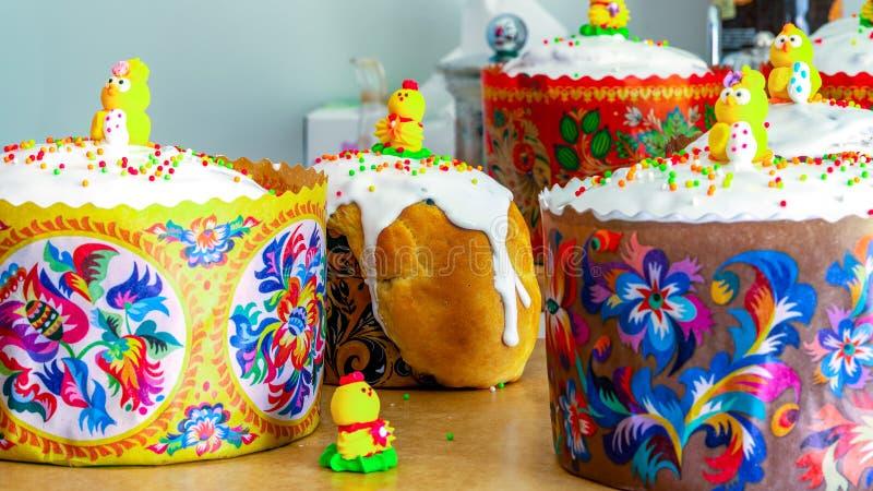 Пасха испекла в печи, рождестве Христос стоковые изображения