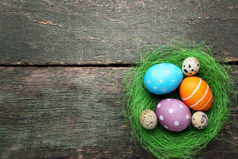Пасха и яйца триперсток стоковое фото