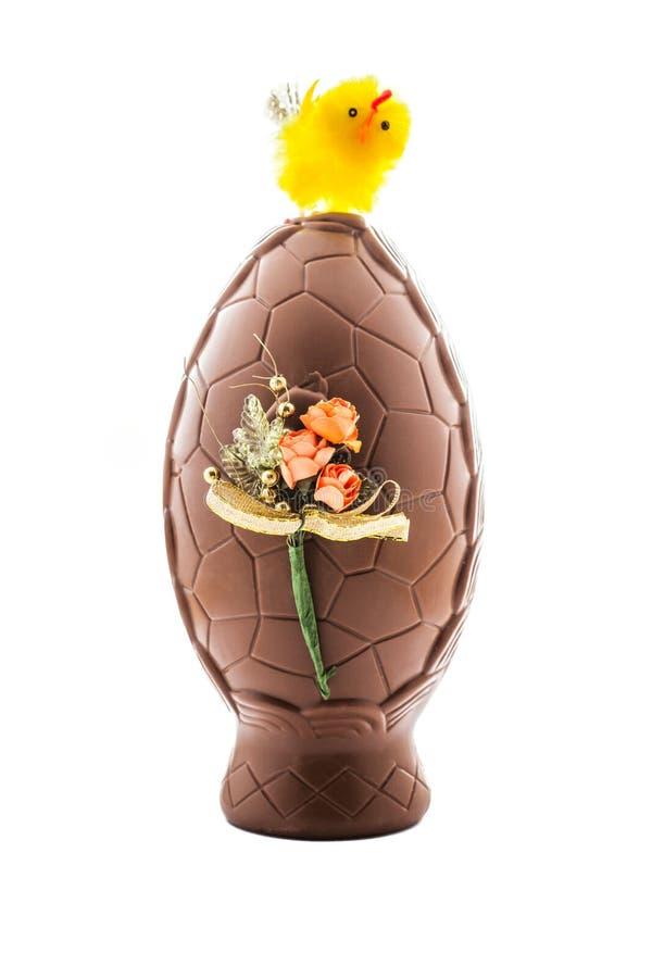 Пасхальное яйцо шоколада стоковая фотография rf