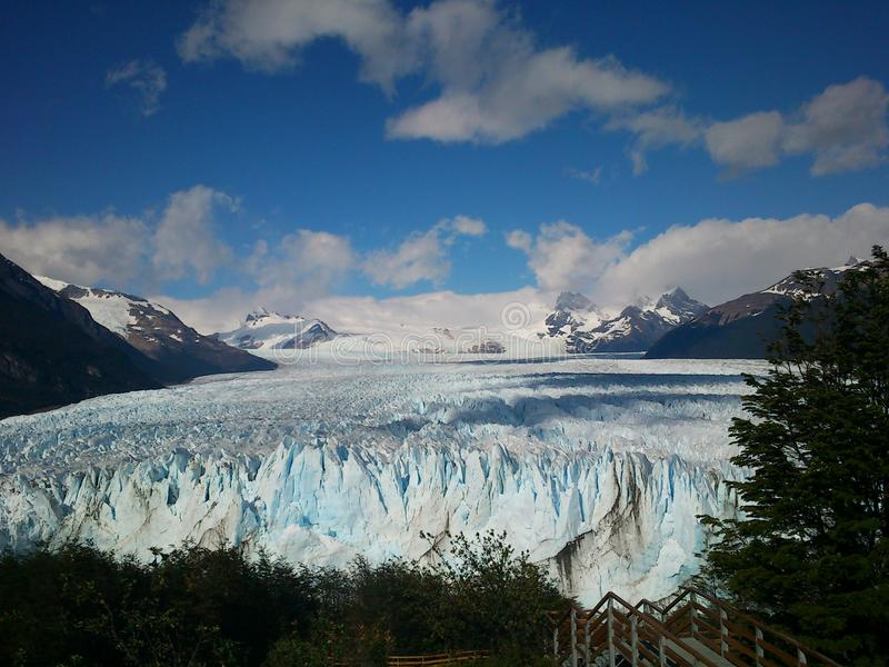 Патагония Perito Moreno стоковое фото rf