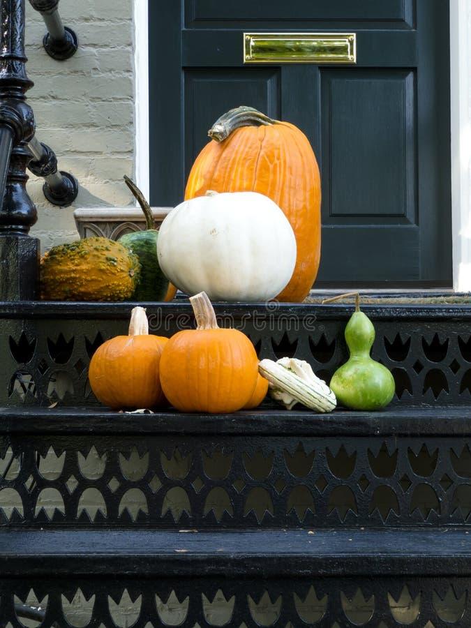 патио дома halloween готовое стоковое изображение rf