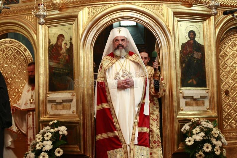 Патриарх Даниель Румынии стоковые фото
