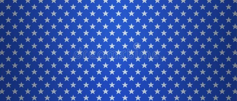 Патриотическая предпосылка США с звездами бесплатная иллюстрация