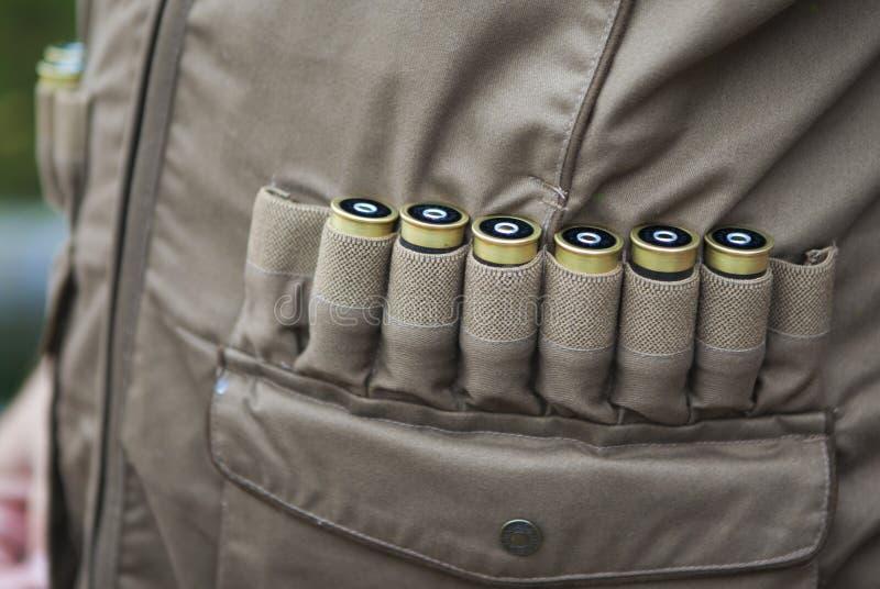 Патроны винтовки стоковое изображение rf