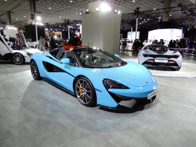 Паук McLaren 570S стоковое изображение