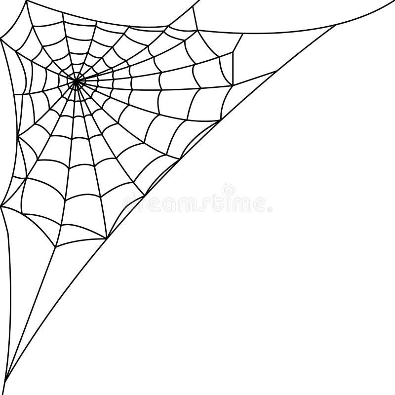 Паутина, сеть паука иллюстрация вектора